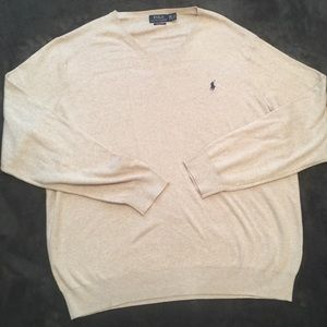 Polo By Ralph Lauren 2XLT NWT V Neck Sweater